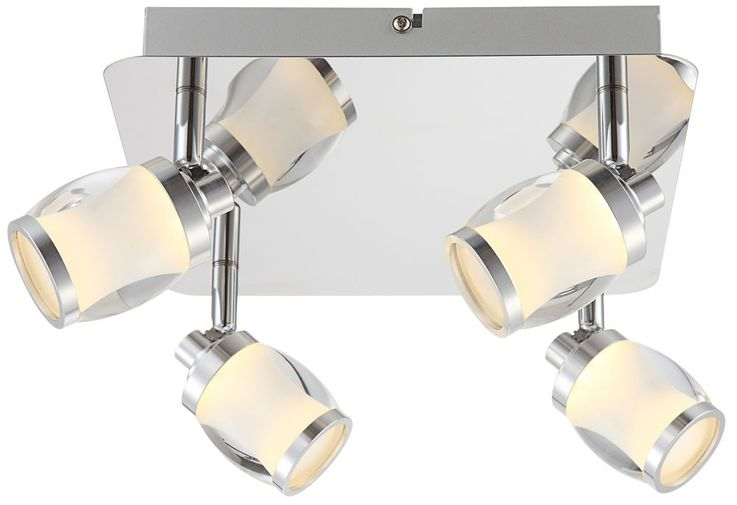 Elegant Ceiling Light with LED lamps and glass – Bild 3