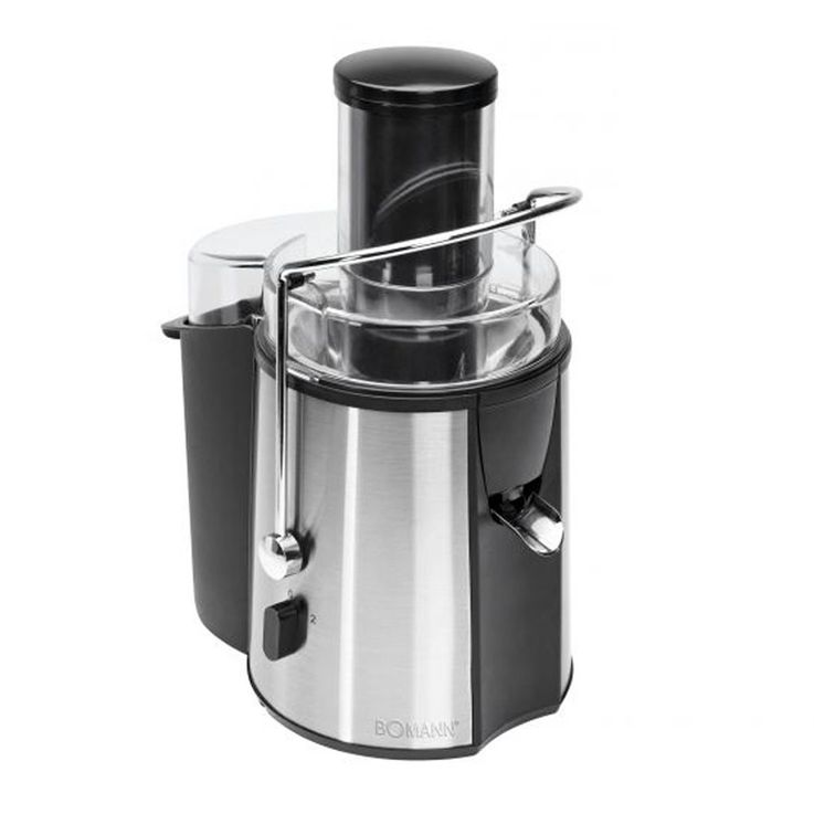 Professional Automatic Juicer juice vegetable juice juicer Bomann AE 1917 black – Bild 2