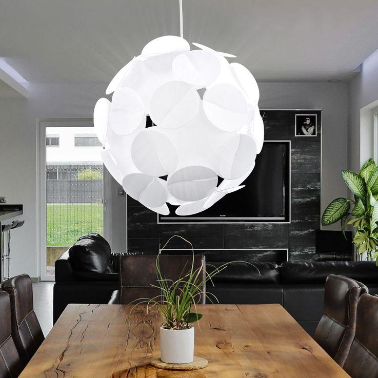 Hängelampe Deckenbeleuchtung Kugel Ball Pendelleuchte Lampe Leuchte Eglo ALTOVIA 93563 – Bild 3