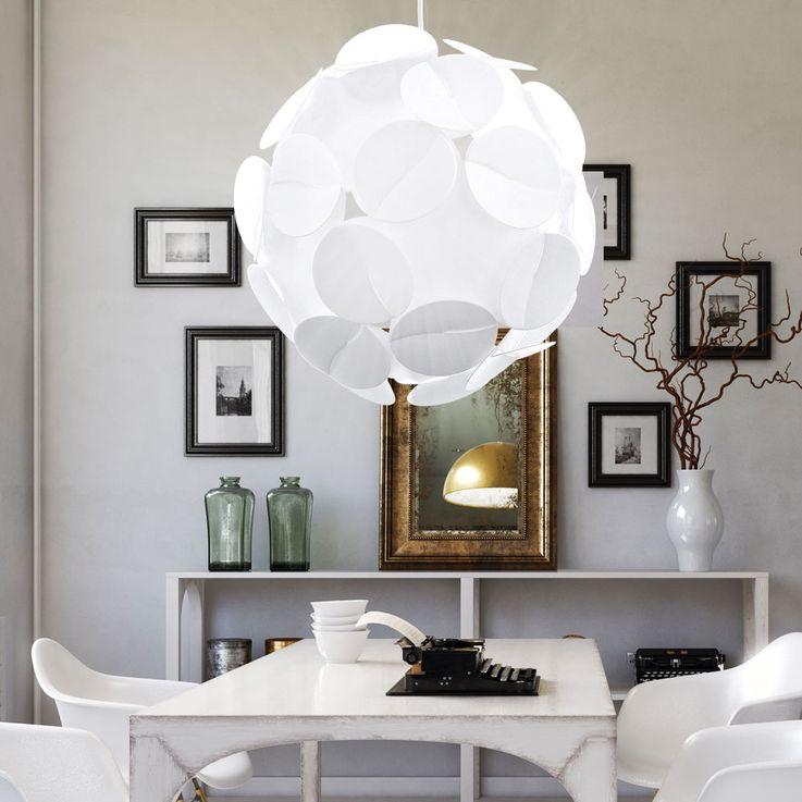 Hängelampe Deckenbeleuchtung Kugel Ball Pendelleuchte Lampe Leuchte Eglo ALTOVIA 93563 – Bild 2