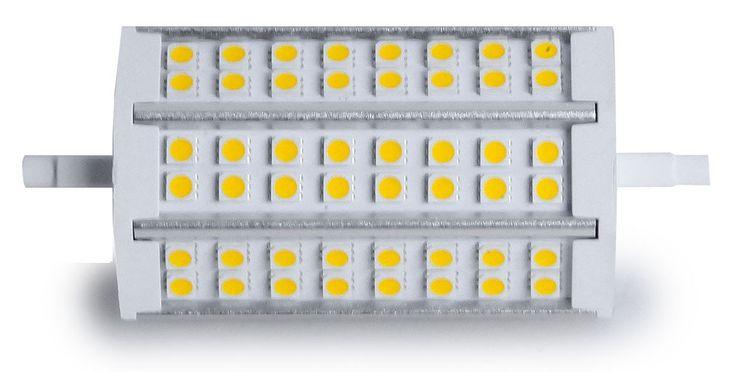 10,5 Watt LED R7S Leuchtmittel mit warmweißen Licht – Bild 2