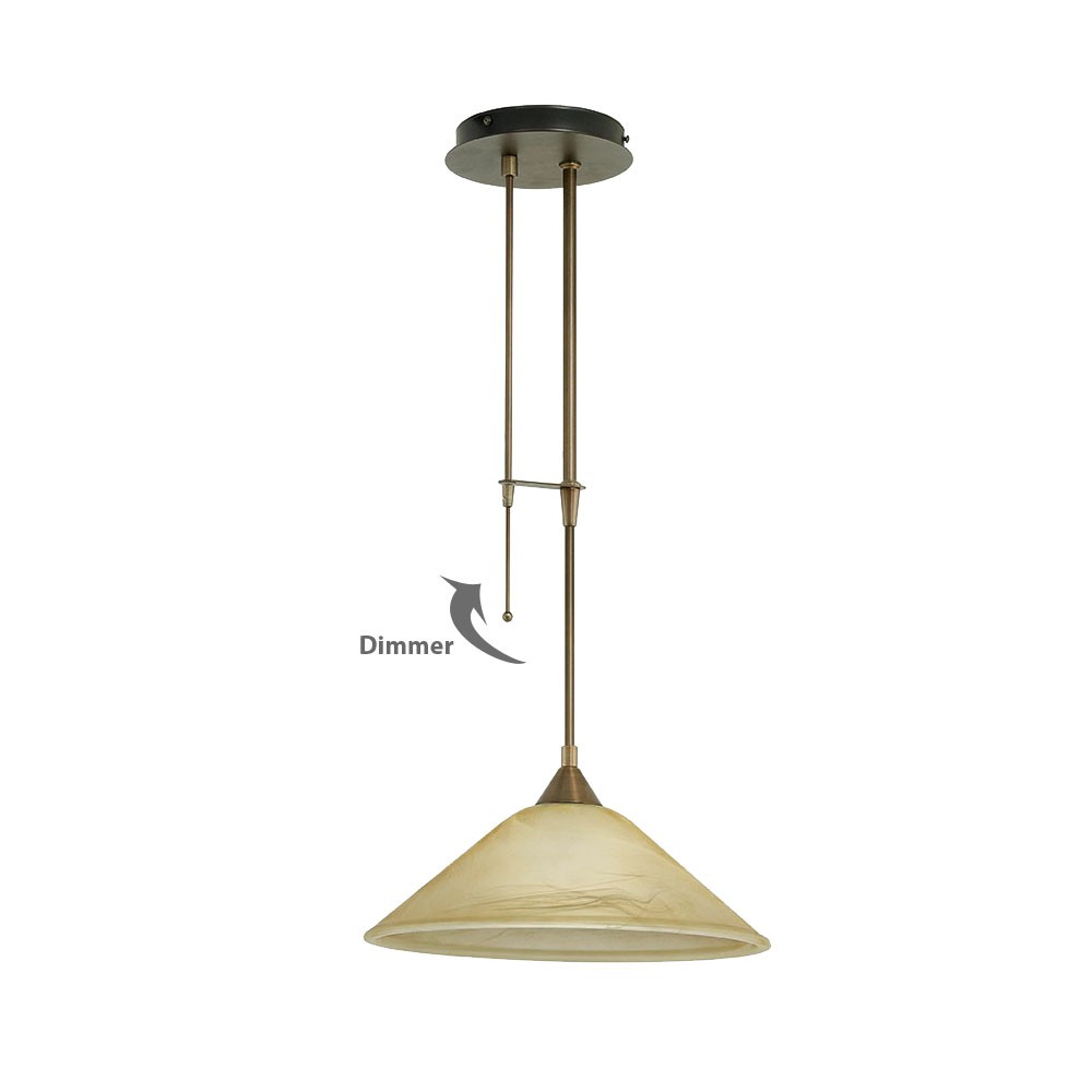 Country House Style Ceilings Pendulum Hanging Lamp