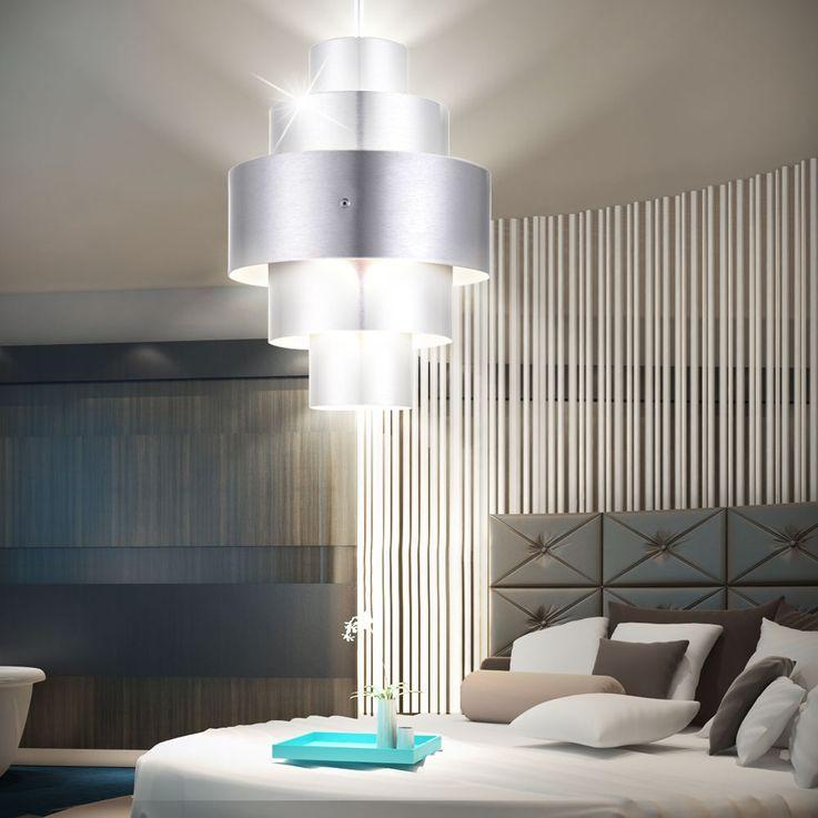 Hanging light Pendelleuchte Lighting Lamp Light Aluminum Eglo CRONOS 22524 – Bild 9