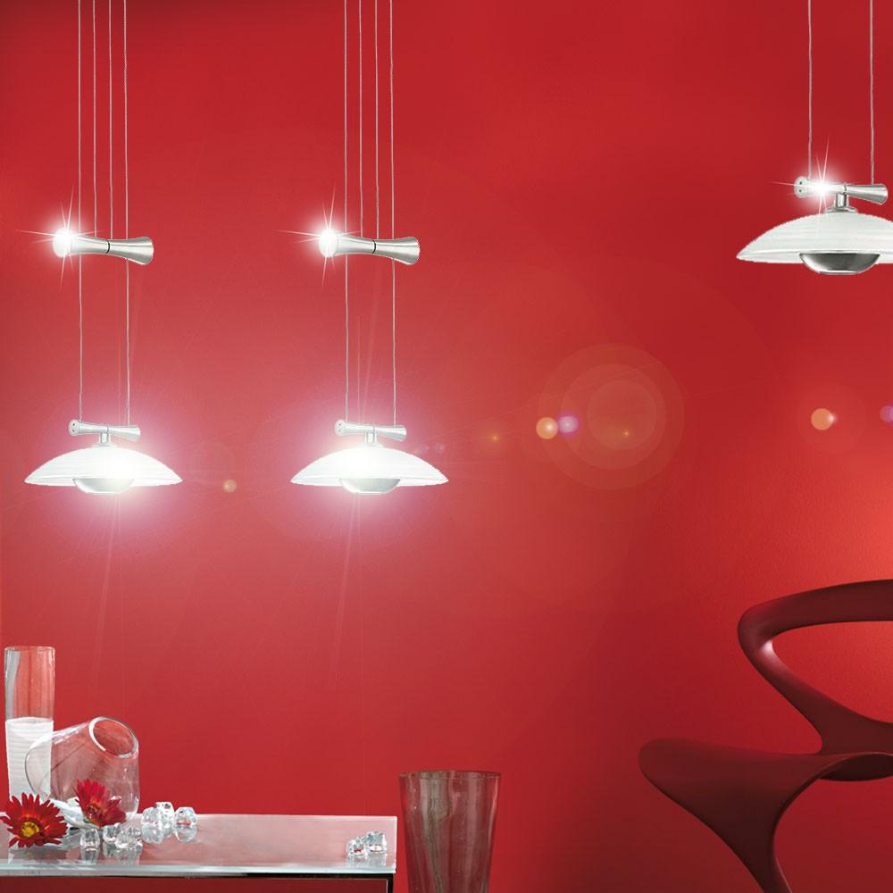 Lustre lampe clairage suspension 2 spots salle manger Eclairage salle a manger