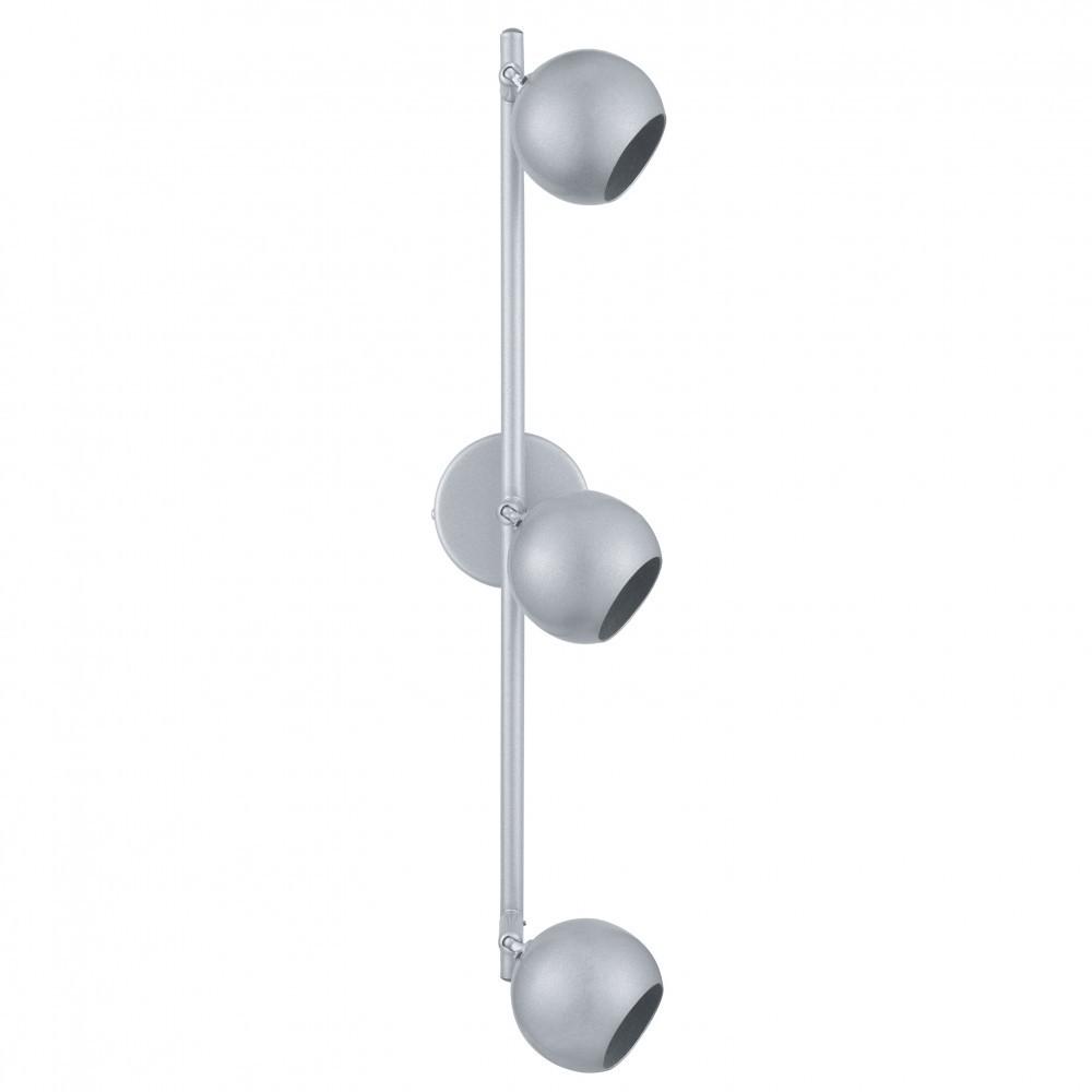 led spot decken und wandlampe aus stahl. Black Bedroom Furniture Sets. Home Design Ideas