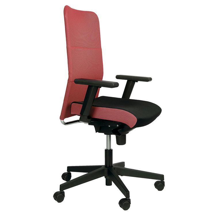 Fauteuil roulant fauteuil fauteuil accoudoirs pivotant fauteuil Montana plus Mafra rouge noir – Bild 2