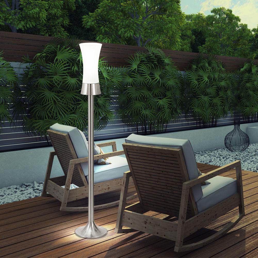 elegante stehleuchte f r den au enbereich lampen m bel au enleuchten stehleuchten. Black Bedroom Furniture Sets. Home Design Ideas