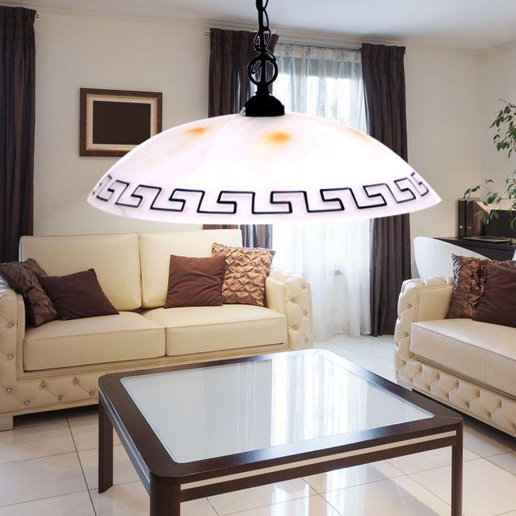 Design Hänge Leuchte Pendel Decken Lampe Glas Beleuchtung Brilliant MURCIA 02170/31 – Bild 3