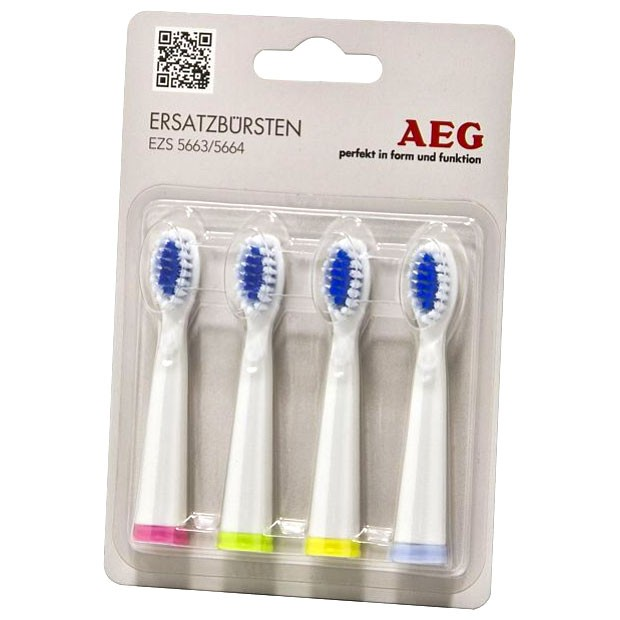 Electric sound battery toothbrush with replacement toothbrush AEG EZS 5664 – Bild 2