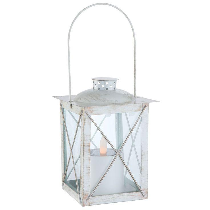 Hochwertige LED Solarlampe aus Metall – Bild 1