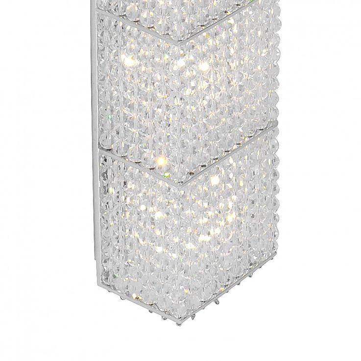 Luxus Chrom Wand Lampe Beleuchtung Leuchte 4xG9 2800K 1480lm Paul Neuhaus BASMA 6002-17 – Bild 5