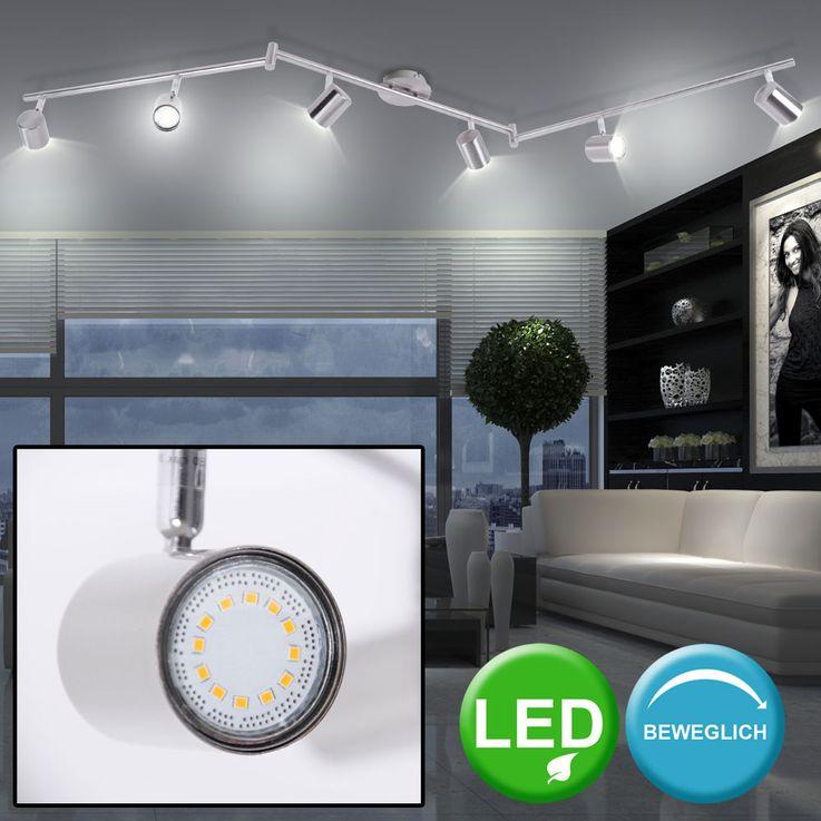 LED Decken Spotleiste, Metall, silber, IP20 TARIK – Bild 2