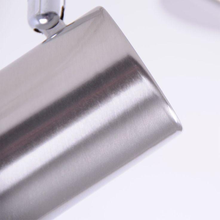 LED Decken Spotleiste, Metall, silber, IP20 TARIK – Bild 3