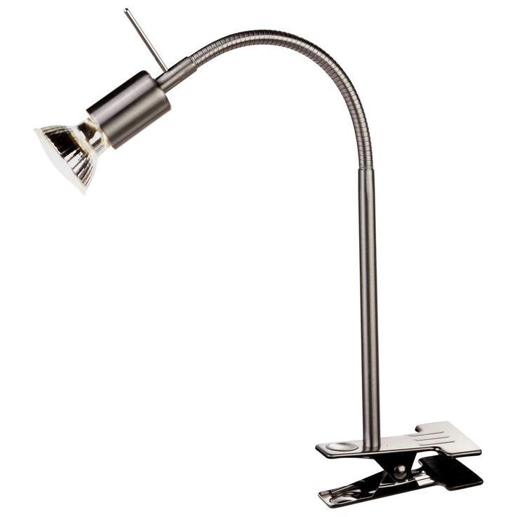 Design table lamp lamp clamps lamp nickel-matt Globo 5730-1 K GROSETTO – Bild 1