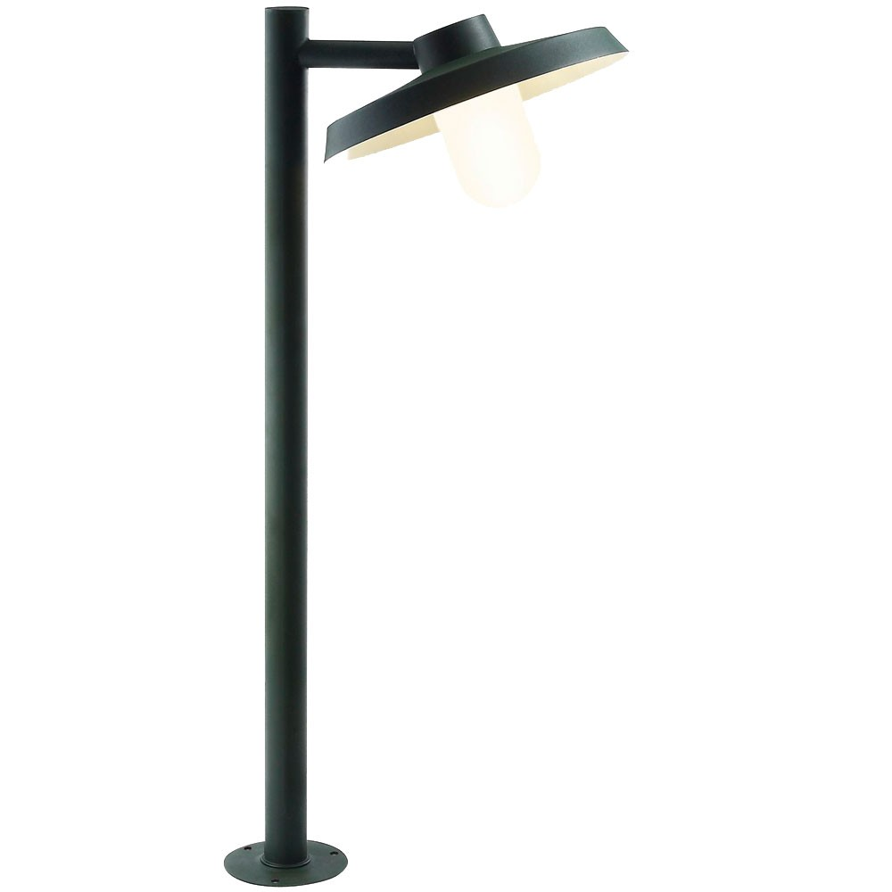 lampadaire ext rieur luminaire jardin acier galvanis terrasse clairage nordlux ebay. Black Bedroom Furniture Sets. Home Design Ideas