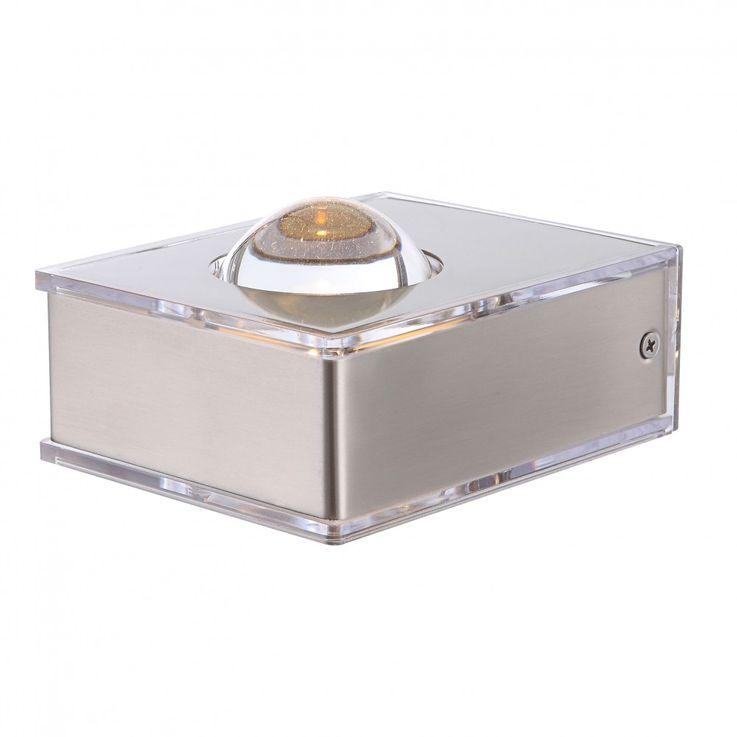 3,5 Watt LED outdoor wall light stainless steel Up & Down lighting IP44 Globo 34178 DEK – Bild 8