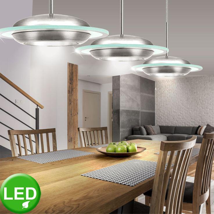 Suspension plafonnier luminaire LED 7,14 watt lumière plafond éclairage EGLO 90807 BOOTES – Bild 3
