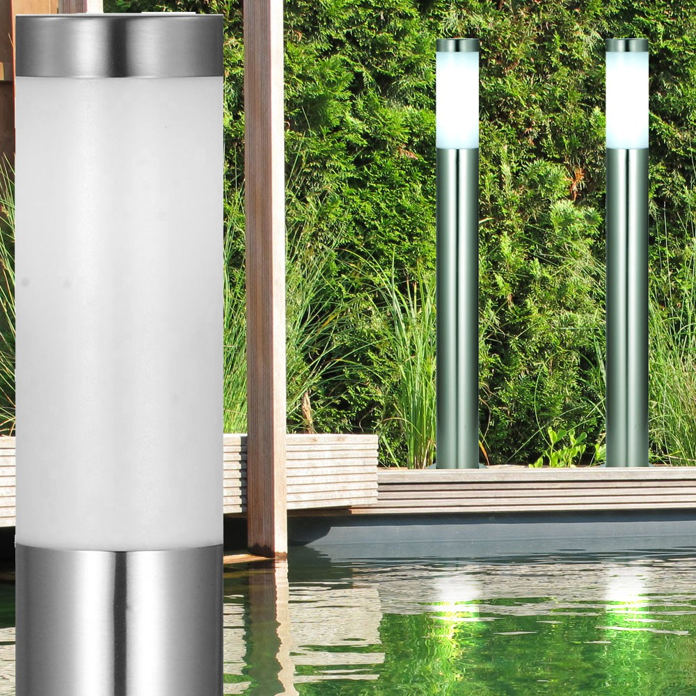 Lampadaire terrasse exterieur inox fashion designs for Luminaire exterieur inox led