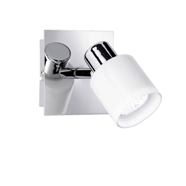 LED Wand Leuchte beweglicher Spot GU10 Glas Licht 1flg WOFI NICE 4178.01.01.1000 – Bild 1