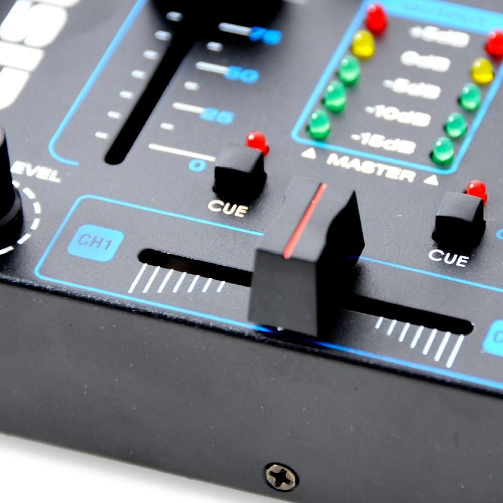 4-Kanal USB Mischpult inklusive Mikrofon – Bild 5