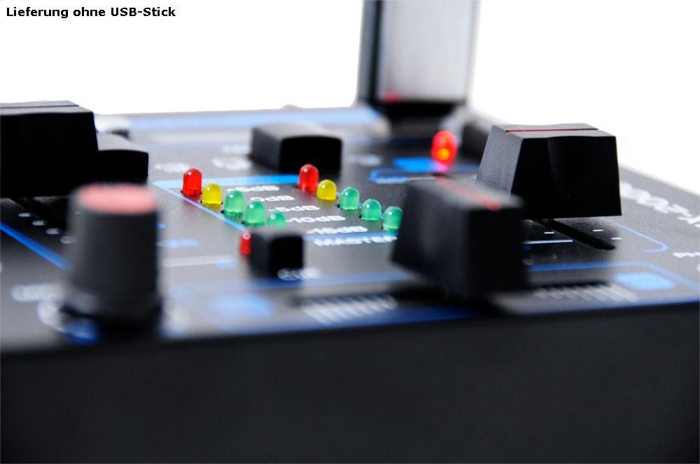 4-Kanal USB Mischpult inklusive Mikrofon – Bild 6