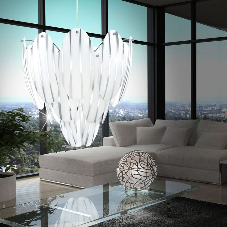 Extraordinary suspension lamp glass decor – Bild 3