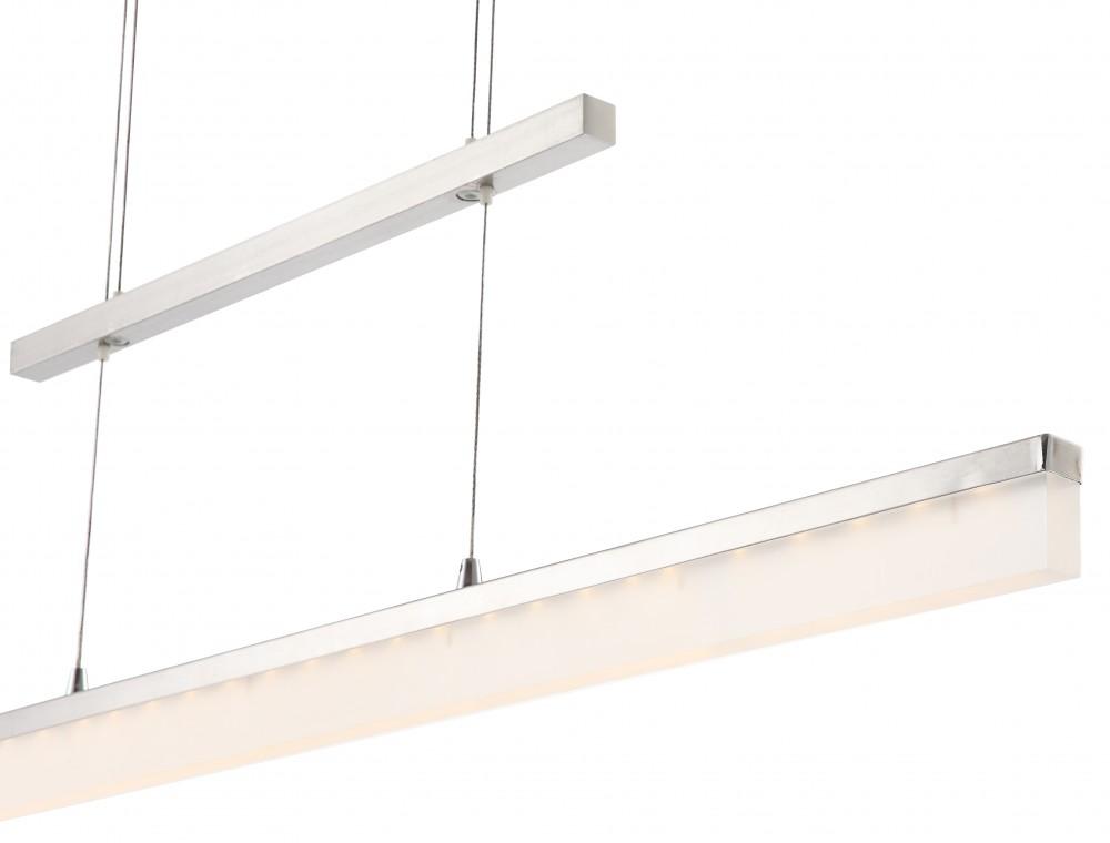 led 15w h nge leuchte esstisch decken pendel lampe h henverstellbar 900 lumen ebay. Black Bedroom Furniture Sets. Home Design Ideas