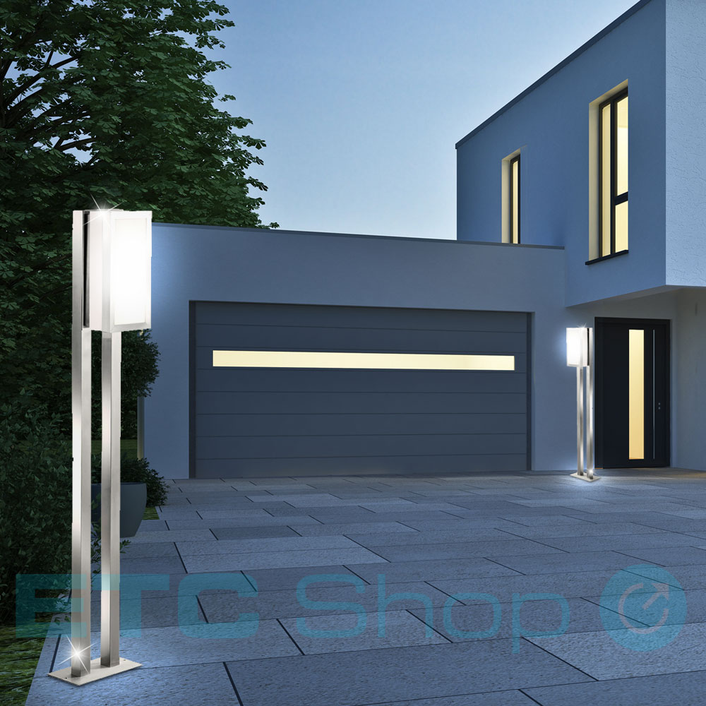 luminaire ext rieur lampadaire clairage jardin espace terrasse piscine carpo ebay. Black Bedroom Furniture Sets. Home Design Ideas