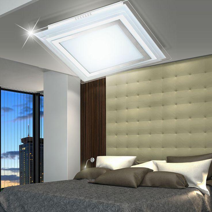 Luxe LED plafond lumière chambre verre projecteurs lampe Chrome couloir EEK A + Wofi 9276.01.01.1300 – Bild 7
