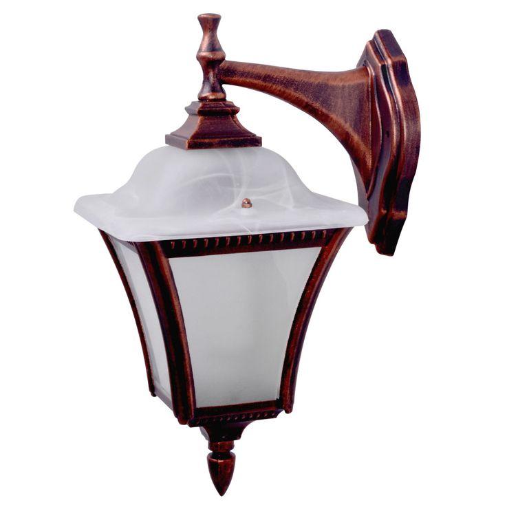 Lampe de mur extérieur façade maison porte projecteurs lanterne lampe en verre patiné  Globo 31591 – Bild 1