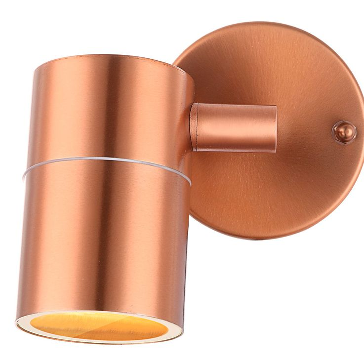 Rugged wall light Exterior lighting Spotlight swivel Copper colored Spotlight Globo 32071 – Bild 4