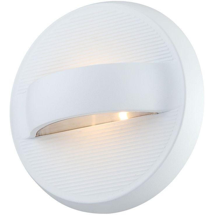 10 Watt design wall outdoor lights round die-cast White aluminium IP54 Globo ELARA 34269 – Bild 6