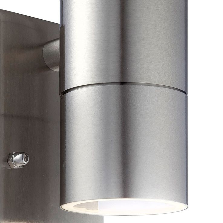 Rugged outdoor lamp stainless steel sensor Wall lamp up down radiator Globo 3201-2S – Bild 7