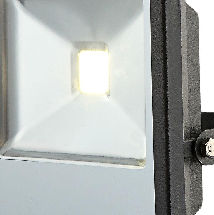 LED outdoor area wall construction spotlights patio lamp garden ALU light black  Globo 34227 – Bild 3