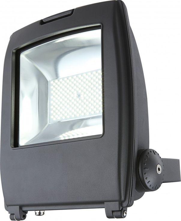High-quality LED building lighting aluminium grey Diecast 80W - Globo 34221 clear glass – Bild 1