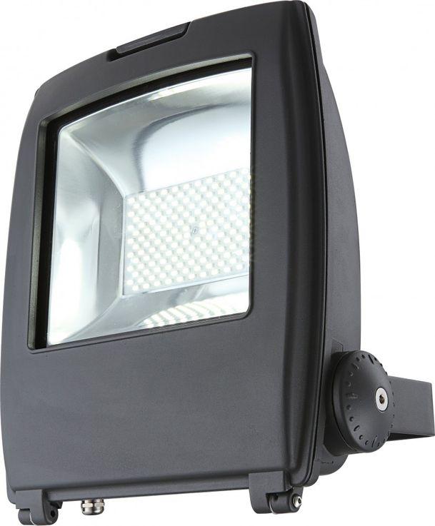 High-quality LED building lighting aluminium grey Diecast 100W - Globo 34222 clear glass – Bild 1