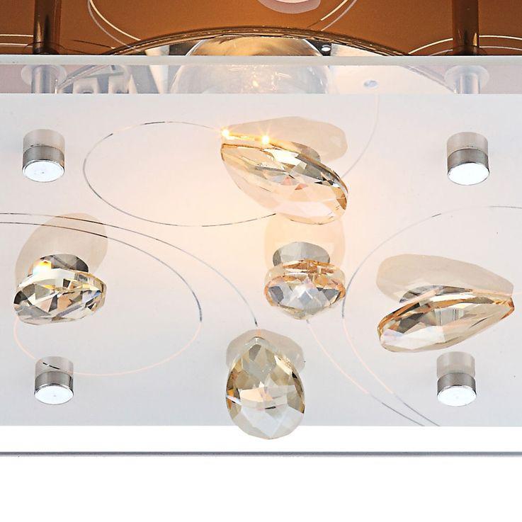 Luxus Deckenleuchte mit Glas Kristallen für Ihren Flur AYANA – Bild 4