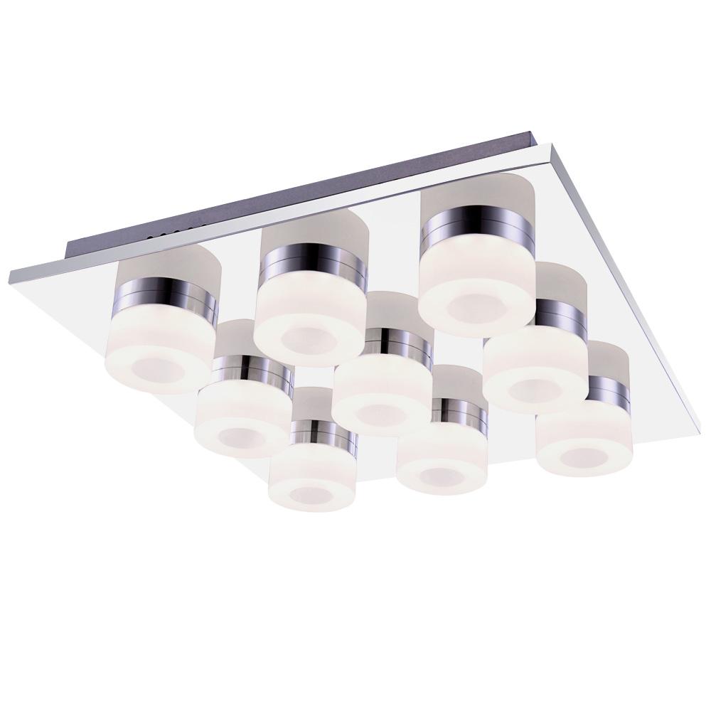 led deckenstrahler ringe chrom panamera lampen m bel innenleuchten deckenbeleuchtung. Black Bedroom Furniture Sets. Home Design Ideas