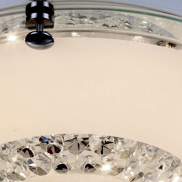 Deckenleuchte aus Chrom und Glaskristallen YUCATAN – Bild 4
