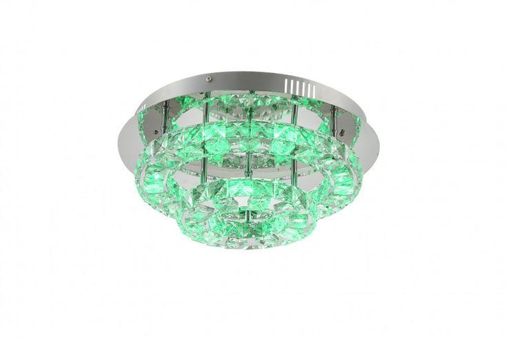 Praktische LED Deckenlampe in chrom CALISA – Bild 5