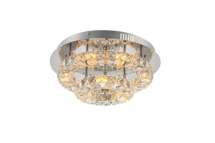 Praktische LED Deckenlampe in chrom CALISA – Bild 8