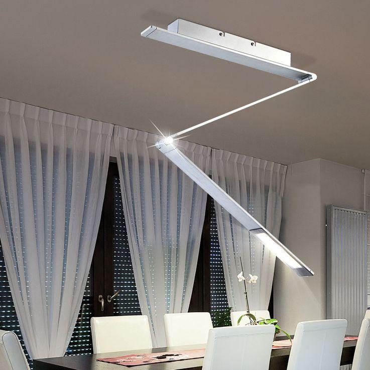 LED 10 Watt Decken Strahler beweglich klappbar Beleuchtung ALU Lampe Globo 58230AD – Bild 2