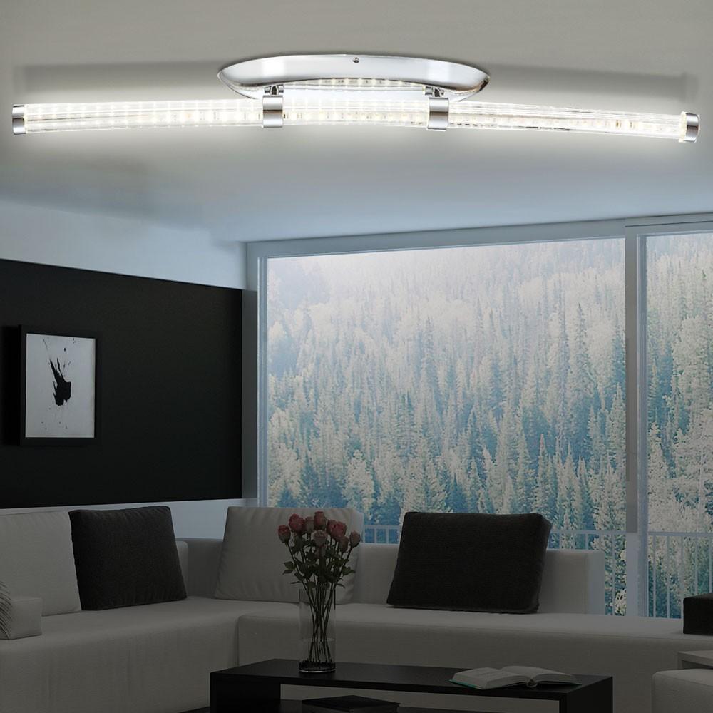 Lujo led iluminaci n de techo l mpara de tubo de vidrio - Iluminacion de techo ...