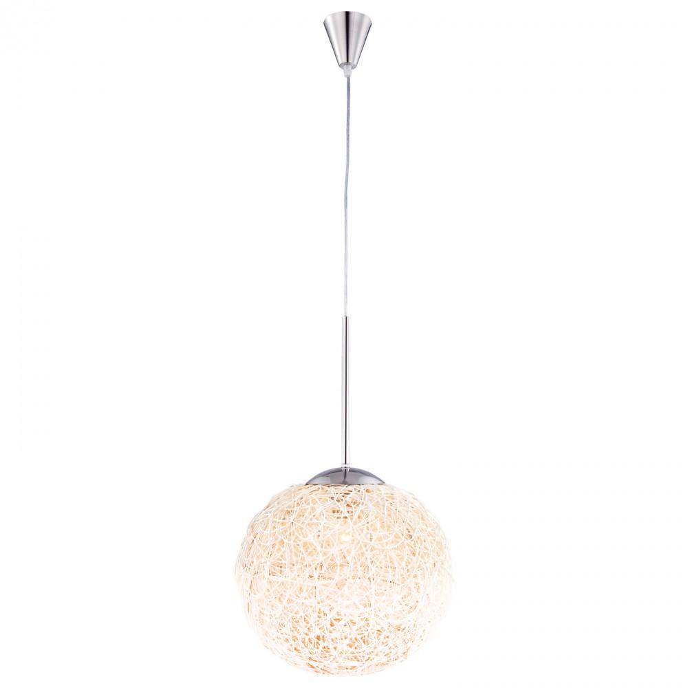modern hanging lighting. Modern Hanging Lamp In Nickel Matt - Globo CORC 1592 \u2013 Bild 1 Lighting