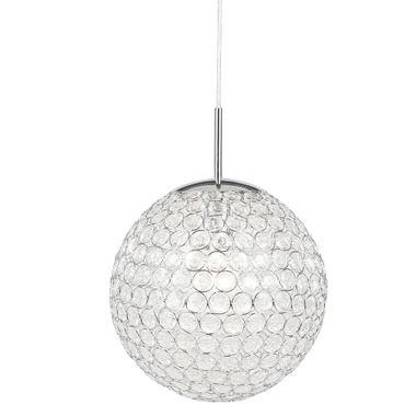 elegante decken pendelleuchte mit klaren kristallen konda lampen m bel r ume esszimmer. Black Bedroom Furniture Sets. Home Design Ideas