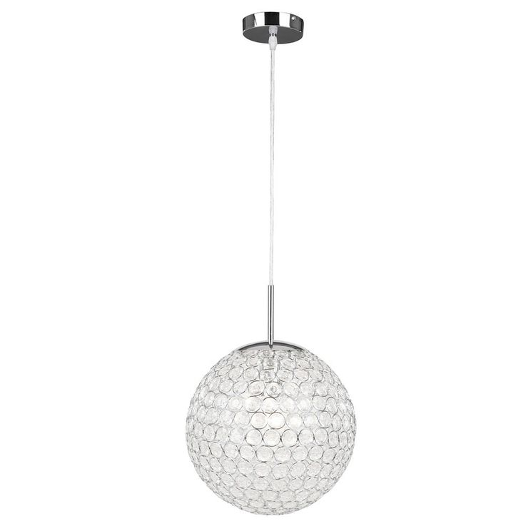 Design Pendel Leuchte Kristall Kugel Hänge Beleuchtung Decken Lampe Globo 16004 – Bild 7