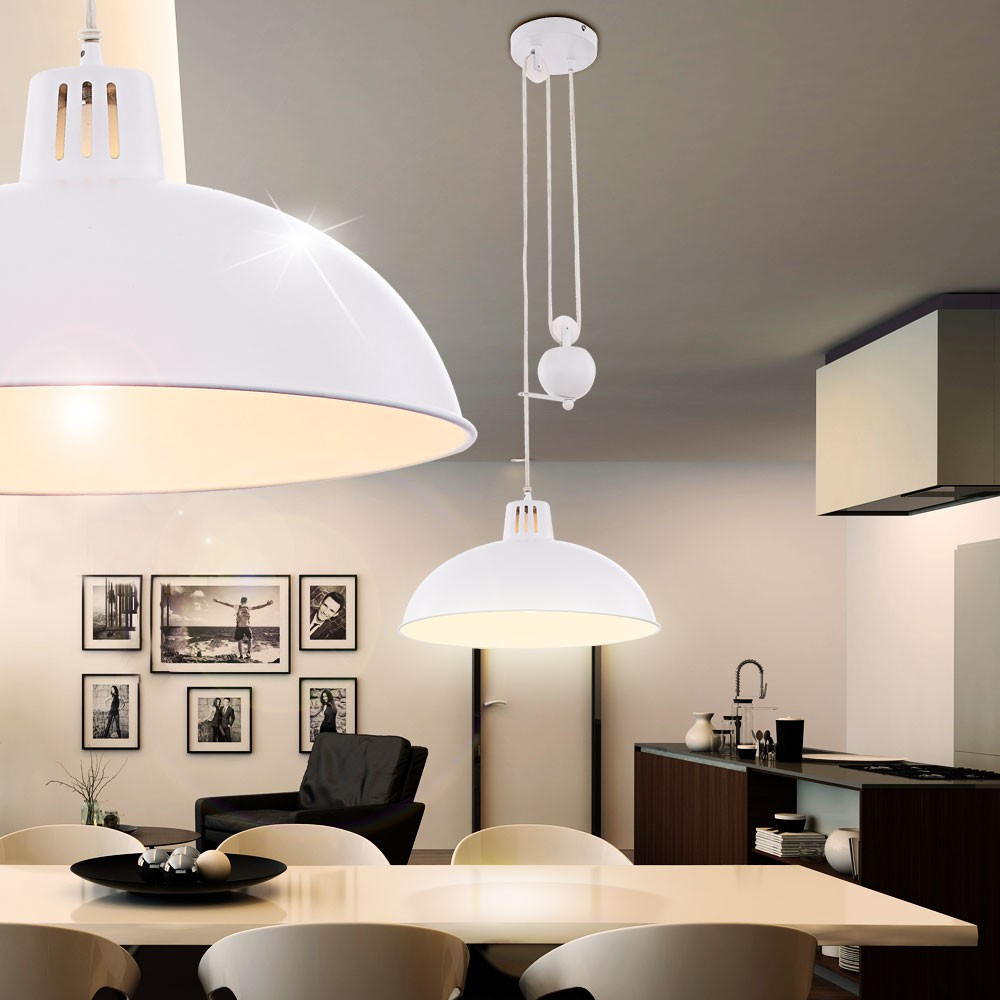 suspension luminaire lustre lampe hauteur r glable. Black Bedroom Furniture Sets. Home Design Ideas