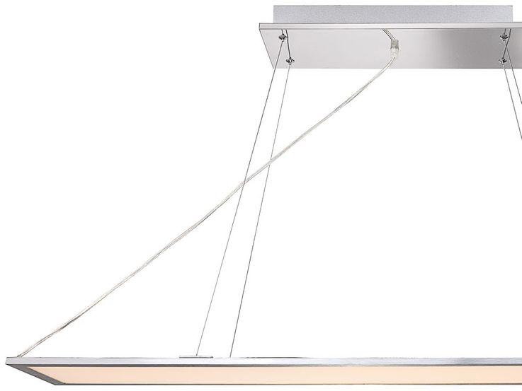 LED Hänge Leuchte aus Aluminium und Acryl – Bild 4