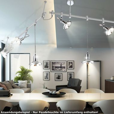 Elegant pendant lamp for your rail system – Bild 4