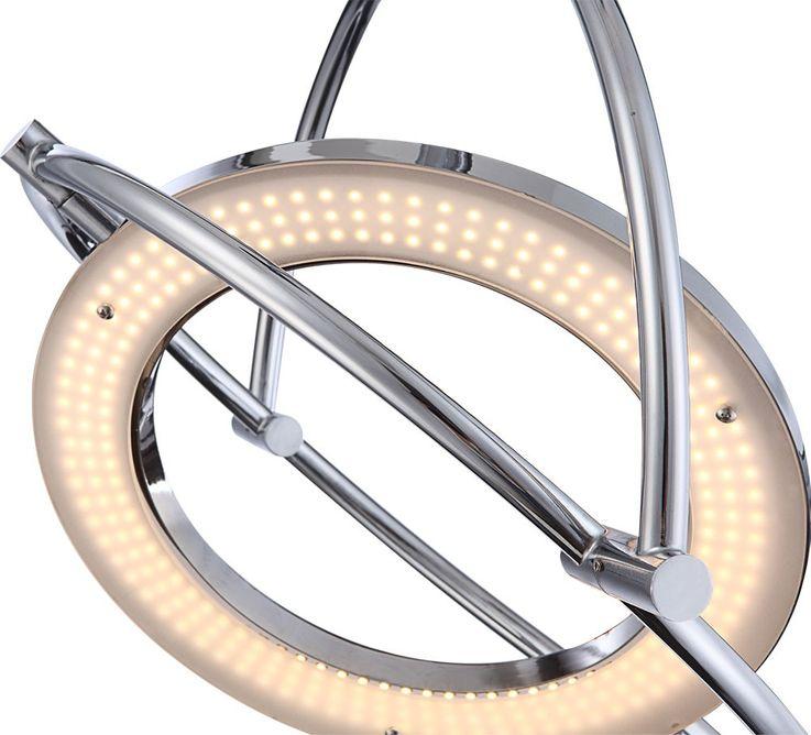 LED Hängleuchte aus Chrom und Acryl ORELL – Bild 4